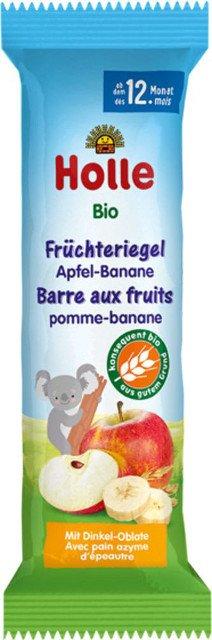 Holle Ovocná bio tyčinka jablko-banán pre deti od 12. mesiaca