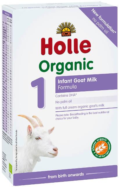 Holle Bio Kozie mlieko 1 počiatočné dojčenské mlieko, výživa od narodenia