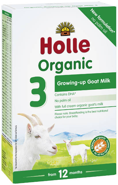 Holle Bio Kozie mlieko 3 pokračovacie dojčenské mlieko, výživa od 10. mesiaca