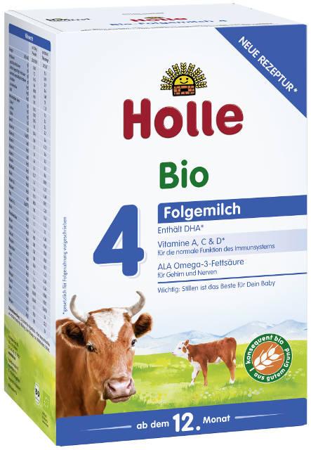 Holle Bio 4 následné dojčenské mlieko, výživa od 12. mesiaca)