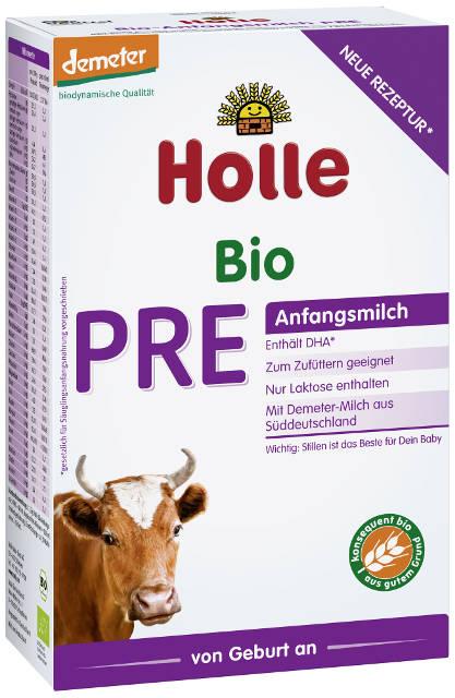 Holle Bio Pre počiatočné dojčenské mlieko, výživa od narodenia vhodná na dokrmovanie