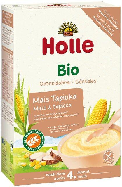 Detská kukuričná kaša s tapiokou od 4. - 5. mesiaca Holle