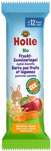 Holle Bio ovocná tyčinka jablko-mrkva od 12. mesiaca