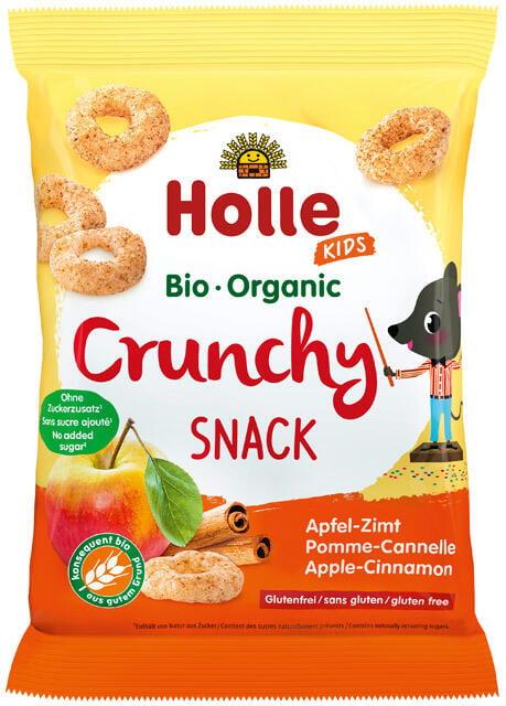 Holle Bio chrumkavé občerstvenie jablko-škorica od 3. rokov