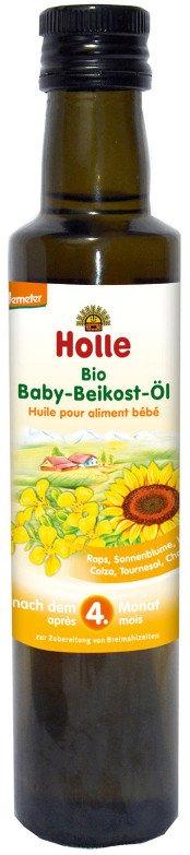 Holle organický detský slnečnicový olej 250 ml od 4. mesiaca