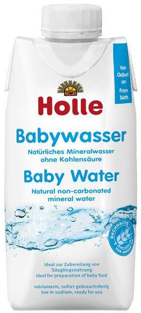 Holle dojčenská voda od narodenia 500 ml nesýtená