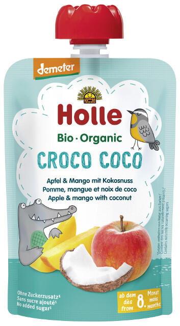 Holle Detské Bio pyré (kapsička) jablko, mango a kokosové mlieko od 8. mesiaca