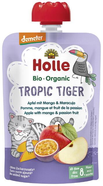 Holle Detské Bio pyré (kapsička) jablko, mango a marakuja od 8 mesiaca