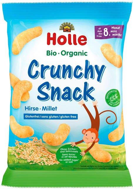 Holle bio chrumkavé pšeno občerstvenie od 8. mesiaca