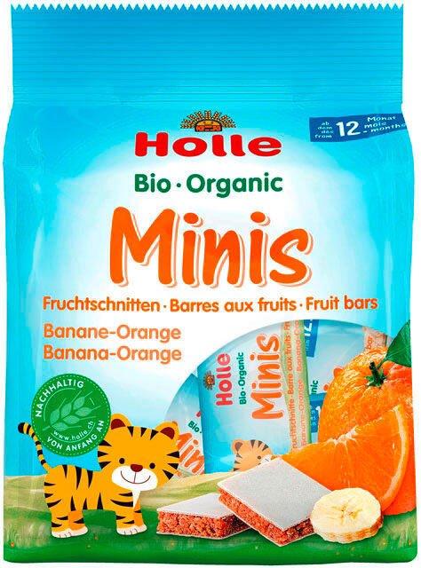 Holle Bio ovocná mini tyčinka banán-pomaranč od 12. mesiaca