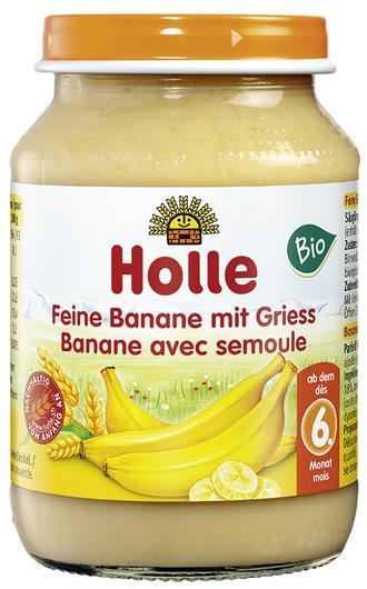 Detská výživa (príkrm) banán a krupica od 6. mesiaca 190g