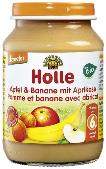 Detská výživa (príkrm) jablko, banán a marhuľa od 6. mesiaca 190g