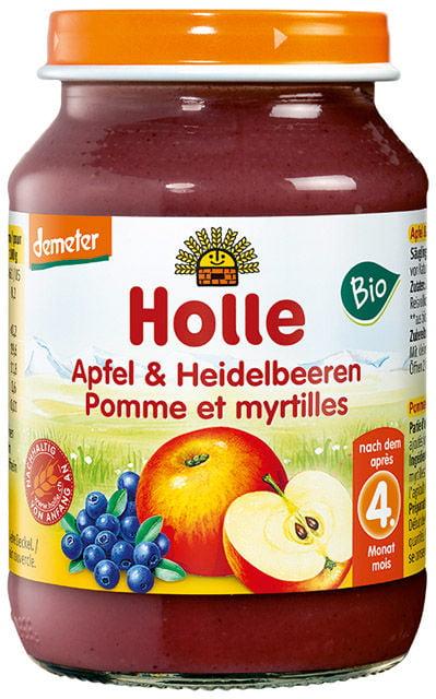 Detská výživa (príkrm) jablko a čučoriedky od 4. mesiaca 190g