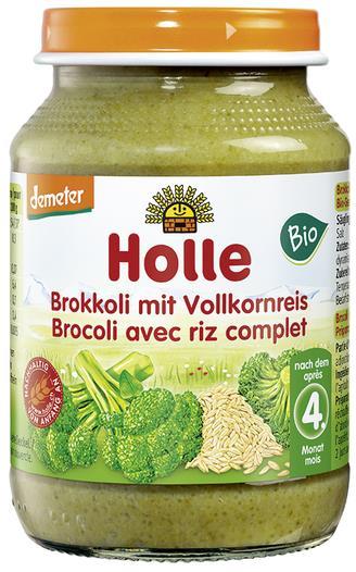 Detská výživa (príkrm) brokolica a hnedá ryža od 4. mesiaca 190g