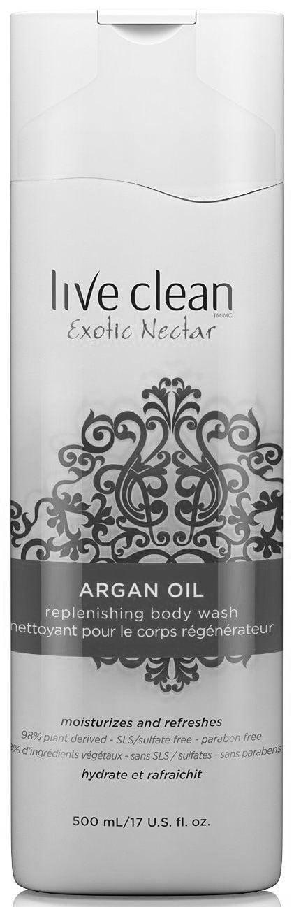 Sprchový gél s Argánovým olejom 500 ml | Live Clean