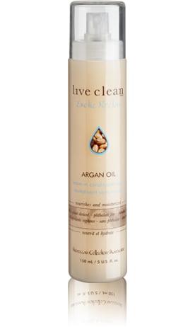 Regeneračný kondicionér s Argánovým olejom v spreji 150 ml | Live Clean
