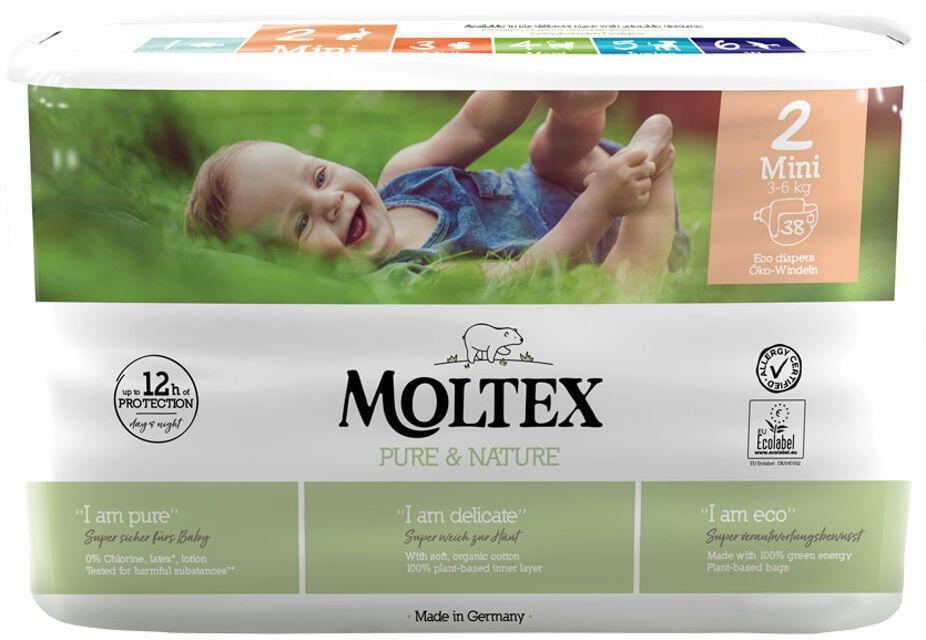 Detské EKO plienky 2 (3-6 kg) Moltex