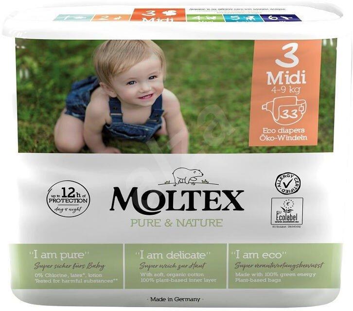 Detské EKO plienky 3 (4-9 kg) Moltex