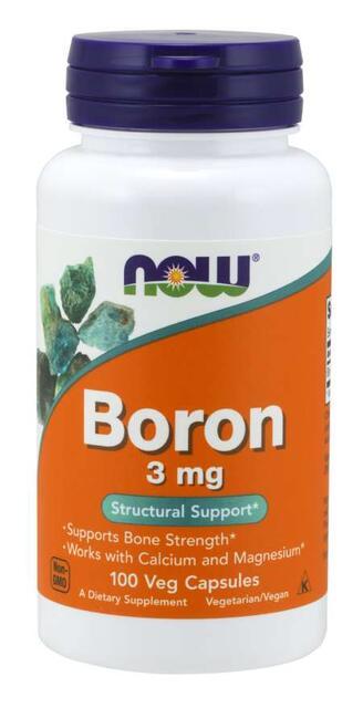 Bór 3 mg Now Foods | výživový doplnok | vitamín