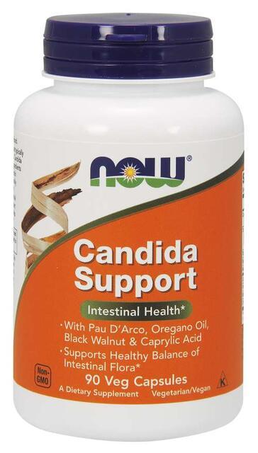 Candida Support podpora črevnej flóry Now Foods | výživový doplnok | vitamín