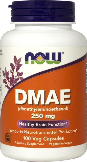DMAE (dimethylaminoethanol) 250 mg Now Foods | výživový doplnok | vitamín