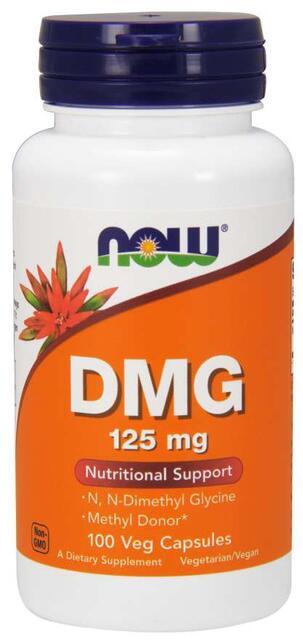 DMG (Dimetylglycín) 125 mg Now Foods | výživový doplnok | vitamín