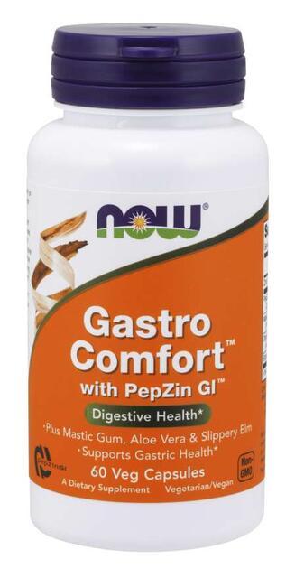 Gastro Comfort™ s PepZin GI™ (tráviace zdravie) Now Foods | výživový doplnok | vitamín