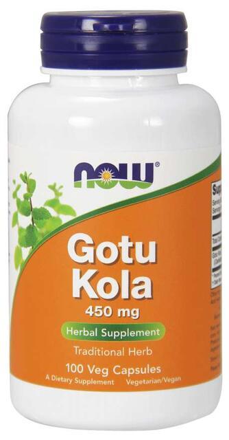 Gotu Kola 450 mg Now Foods | výživový doplnok | vitamín