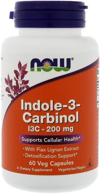 Indole-3-Carbinol (I3C) 200 mg Now Foods | výživový doplnok | vitamín