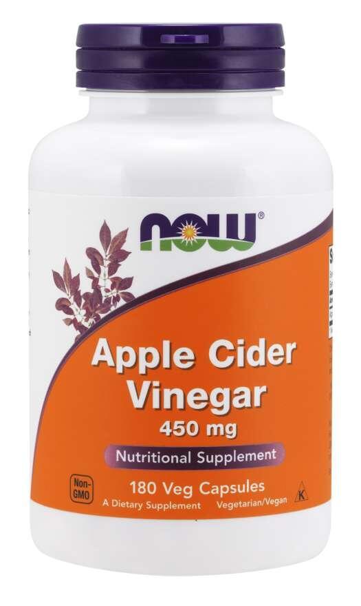 Jablčný Ocot 450 mg Now Foods | výživový doplnok | vitamín