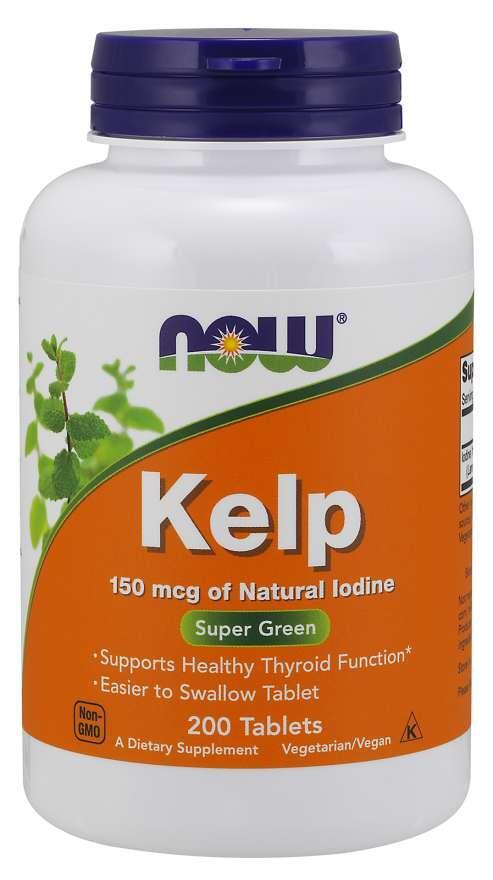 Kelp (Jód) 150 mcg Now Foods | výživový doplnok | vitamín
