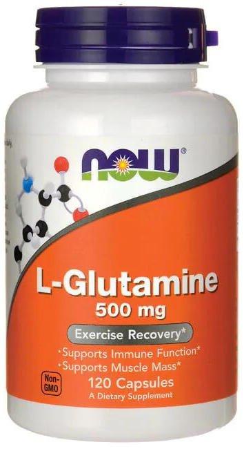 L-Glutamín 500 mg Now Foods | výživový doplnok | vitamín