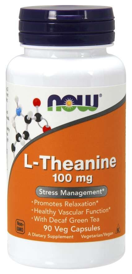 L-Theanin 100 mg Now Foods | výživový doplnok | vitamín