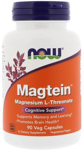 Magteín™ Horčík L-Treonát Now Foods | výživový doplnok | vitamín