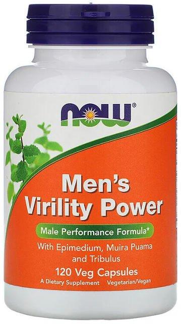 Pánska sila mužnosti (Men's Virility Power) Now Foods   výživový doplnok   vitamín