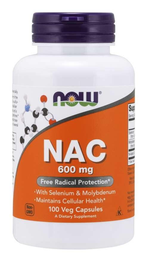 N-Acetyl Cysteín (NAC) 600 mg Now Foods | výživový doplnok | vitamín