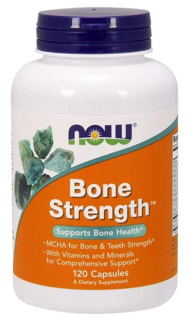 Bone Strength™ s MCHA (kostný minerál) Now Foods | výživový doplnok | vitamín