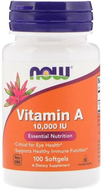 Vitamín A 10.000 IU Now Foods | výživový doplnok | vitamín
