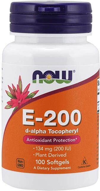 Vitamín E 200 IU Now Foods   výživový doplnok   vitamín