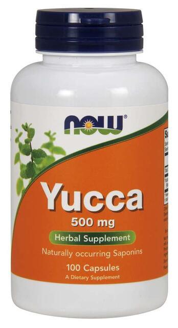 Yucca Root 500 mg Now Foods   výživový doplnok   vitamín