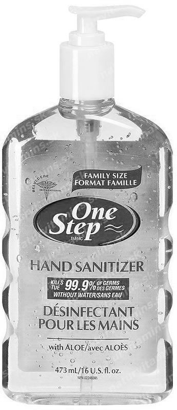 One Step Antibakteriálna dezinfekcia na ruky 473 ml