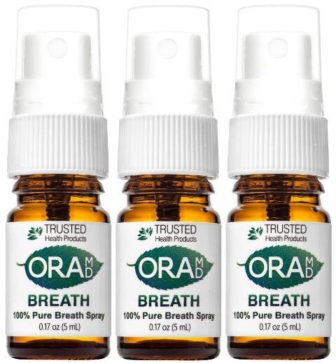 OraMD ústny sprej pre svieži dych 2+1 zadarmo