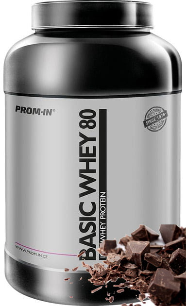 Basic whey proteín čokoláda 2250g | Prom-In