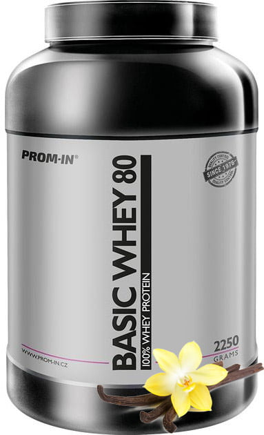 Basic whey proteín vanilka 2250g | Prom-In
