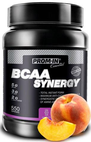 BCAA Synergy broskyňa 550g | Prom-In