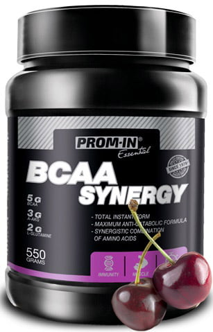 BCAA Synergy višňa 550g   Prom-In