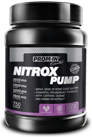 Nitrox Pump cola s citrónom 750g   Prom-In