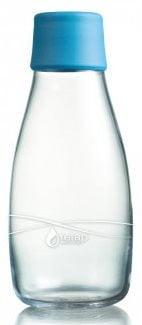 EKO fľaša sklenená Retap - 0.3l (300 ml) s uzáverom