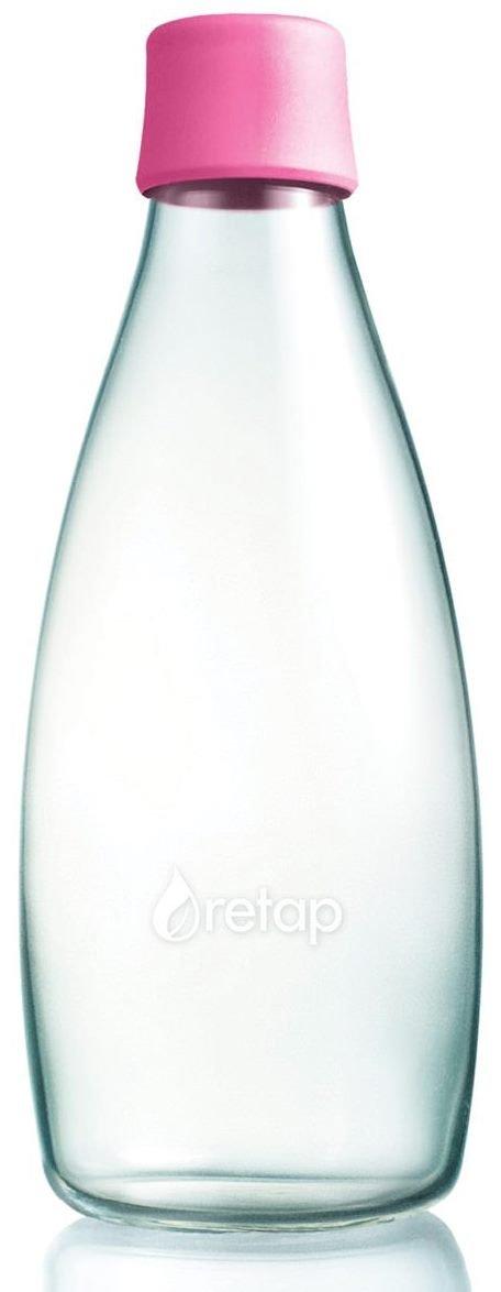 EKO fľaša sklenená Retap - 0.8l (800 ml)s uzáverom