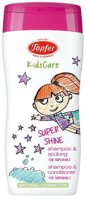 SUPERLESK šampón s kondicionérom (dievčatá) 200 ml